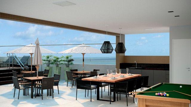 Venha morar na beira mar de praia formosa - 2 e 3 quartos, elevador e lazer na cobertura - Foto 3