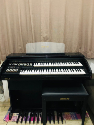 Órgão Tokai Organist yx400 Preto - Foto 2