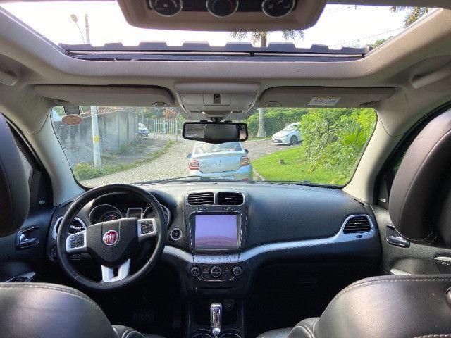 Fiat Freemont Emot. Precision 2.4 16V 5P Automático 2015 - Impecável - Teto solar - - - Foto 12