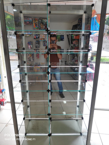 Vitrine top em vidro e alumínio  - Foto 4
