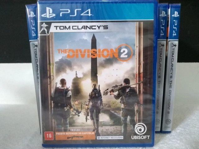 Tom Clancy's The Division 2 Ps4 Novo Mídia Física Lacrado
