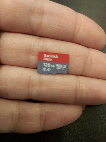Cartão de memória 128gb novo - Foto 2