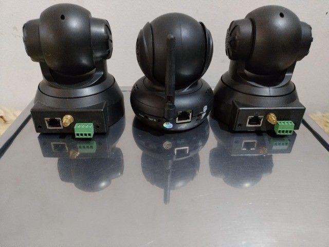 Lote Com 5 Câmeras de Segurança Preço Pra Vender Rápido Em Perfeitas Condições - Foto 3