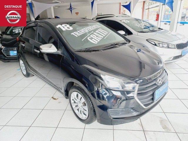 Hyundai HB20 Confort Plus 1.0 2018 Preto - Foto 8