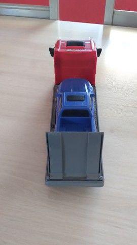 Caminhão + Camionete de Brinquedo - Foto 3