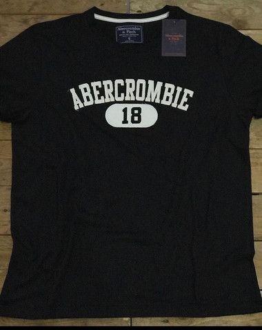 Camiseta Versace, Adidas e Abercrombie - Foto 4