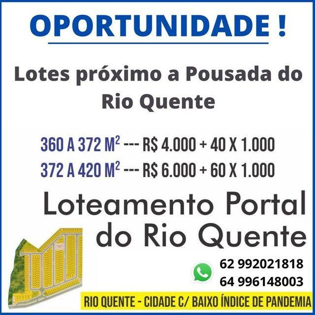 Lote/Terreno Portal Do Rio Quente  - Rio Quente - Goiás