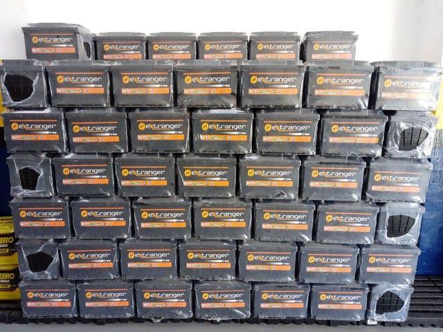 Bateria Extranger 60Ah com 12 meses de Garantia - Foto 2