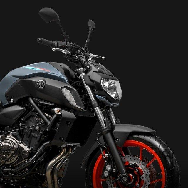 Yamaha MT 07 ABS 2021/2022 Modelo novo! - Foto 4
