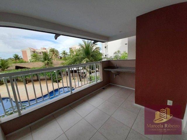 Apartamento à venda, 76 m² por R$ 439.000,00 - Porto das Dunas - Aquiraz/CE - Foto 4