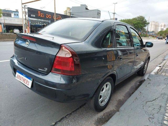 Corsa Sedan Premium 1.8 Flex 2008 COMPLETO + AIRBAG - Foto 4