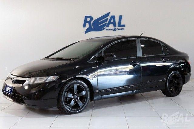 Honda Civic LXS 1.8 Automático Flex Financia Até 60X Com Apenas 5 Mil De Entrada