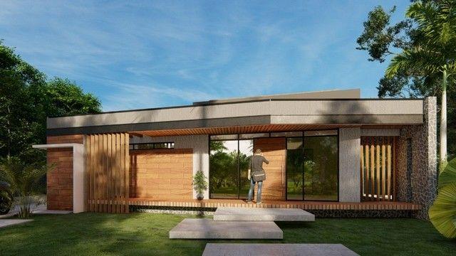 Moderna casa em condomínio fechado conceito inovador | Oficial Aldeia Imóveis
