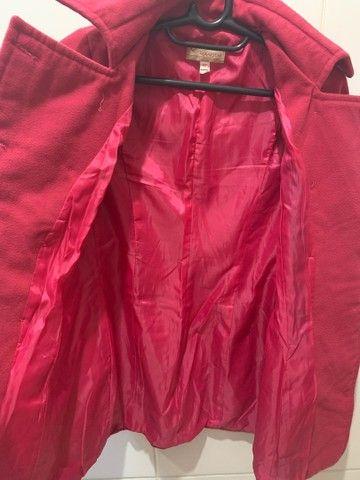Casaco lã batida Rosa - Foto 3