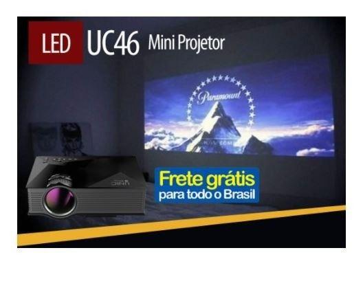 Mini Projetor Led Uc46  - Foto 2