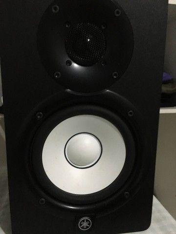 Monitores Yamaha HS5 vendo ou troco por algo do meu interesse