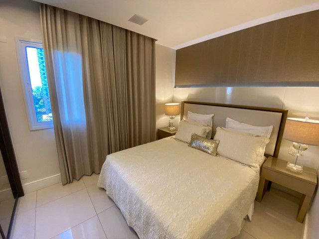 greenville etco 3 quartos Varanda Gourmet finamente decorado luxo Patamares - Foto 16