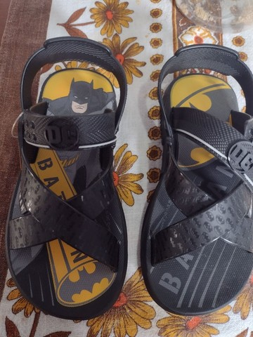 Sandália do Batman Nova!