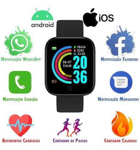 Relógio Inteligente Smartwatch D20 y68  - Foto 5