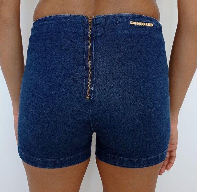 Short jeans feminino DAMYLLER - Foto 2