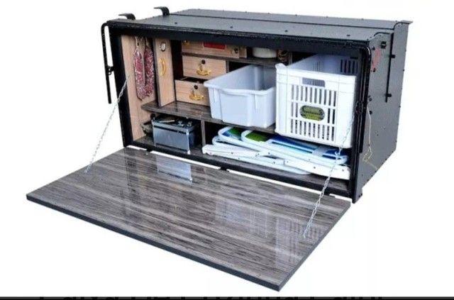 Caixa de cozinha Caibi semi nova barata