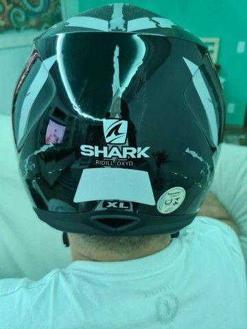 Capacete shark ridículo oxyd tamanho xl - Foto 3
