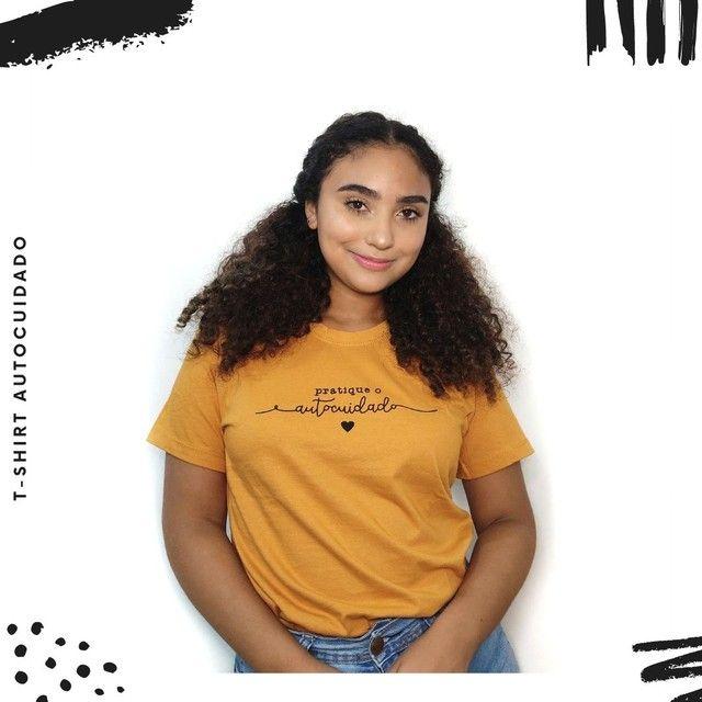 T-shirt Pratique o Autocuidado