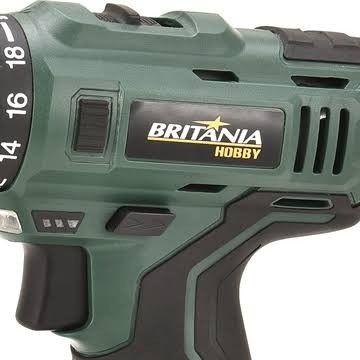 Parafusadeira e Furadeira Britânia BPF03M Kit com Estojo - Bivolt - Foto 3