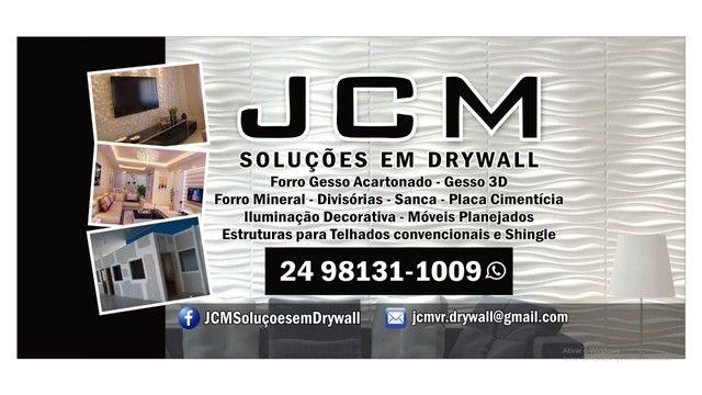 Rebaixamento e Divisórias de gesso em Drywall e Placas, Decoração Interna. - Foto 6