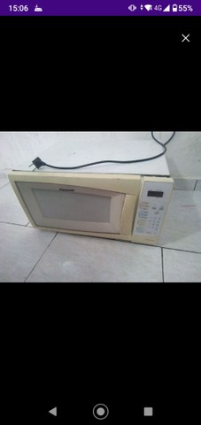 Microondas 32l para conserto, venda rápida