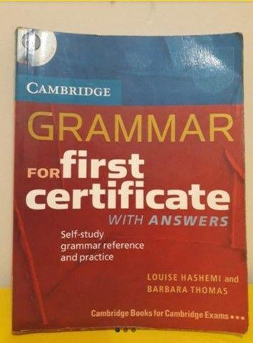 Livro para exame internacional