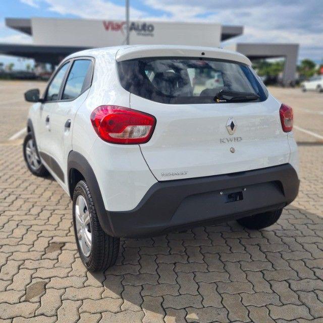 (0 KM!) Renault - Kwid Zen 1.0 - 2022 (Pronta Entrega) - Foto 13