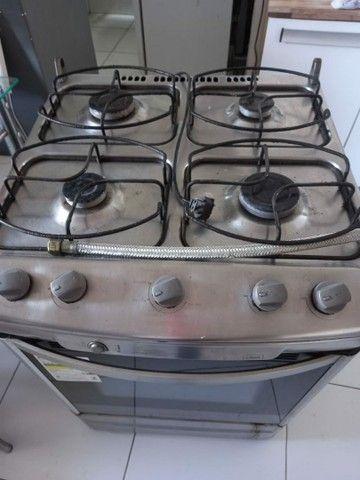 Vendo fogão inox com acendimento automático!! - Foto 3