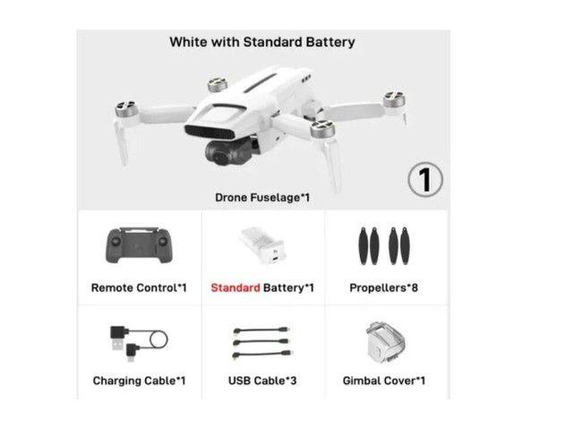 Drone Fimi X8 Mini Gps Camera 4k Gimbal 3 Eixos 8km 30min Lacrado!!! ( troco em PC gamer ) - Foto 2