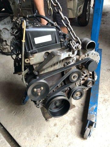 Motor parcial fiesta supercharger 1.0 original  - Foto 2