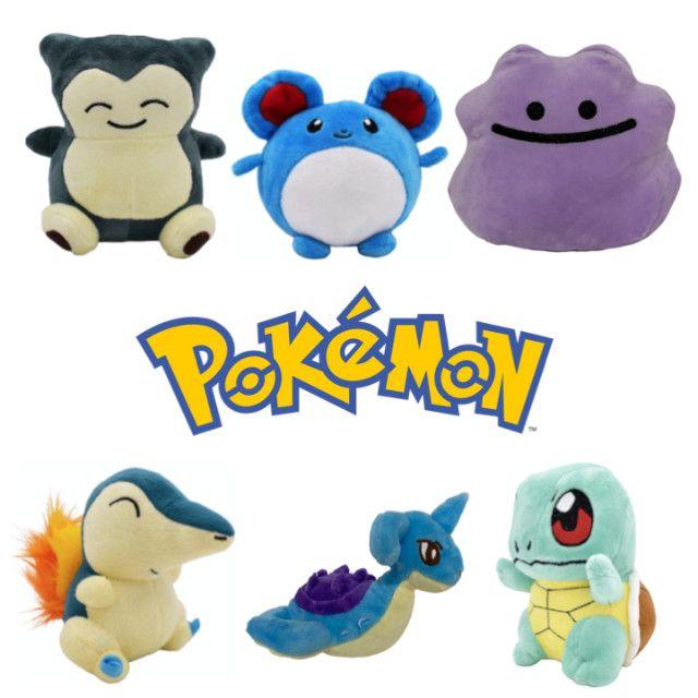 Pokémons Pikachu Eevee Bulbassaur Snorlax Psyduck Charmander Cartepie  Pokebola - Foto 5