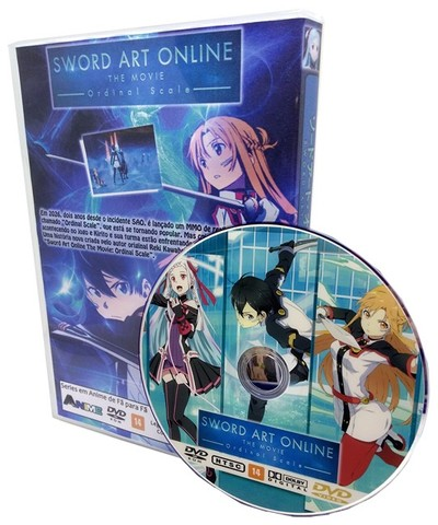Box Dvd Filme Sword Art Online Ordinal Scale - Foto 3