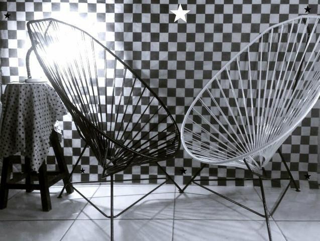 Sua cadeira Acapulco