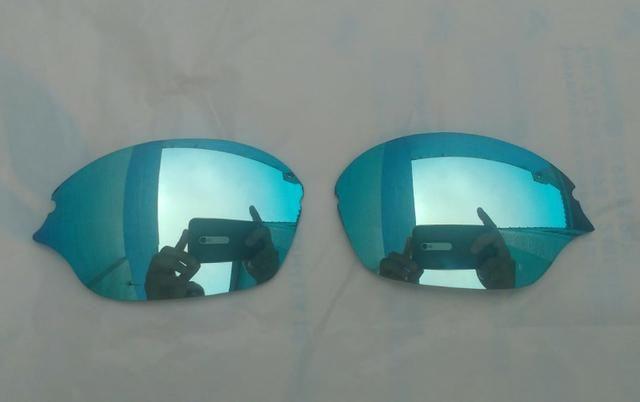 64d318a4015be Lente Oculos Oakley Romeo 2 Brilho Reto - Bijouterias