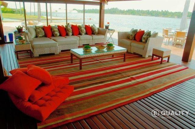 Casa na Lagoa do Uruaú com 6 suítes à venda, por R$ 5.800.000 Porteira fechada- Beberibe