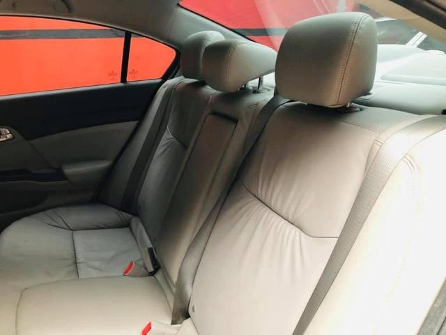 Honda Civic 2014 lxr automático + kit multimídia, carro impecável !!! - Foto 11