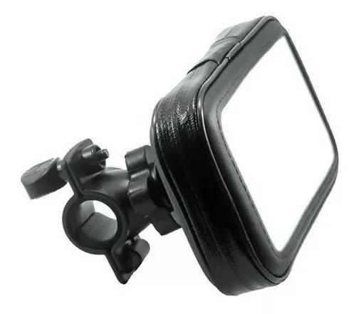 cc5519f580c Suporte Porta Celular Guidão Tamanho Até 6 Poleg Impermeável. R$ 35