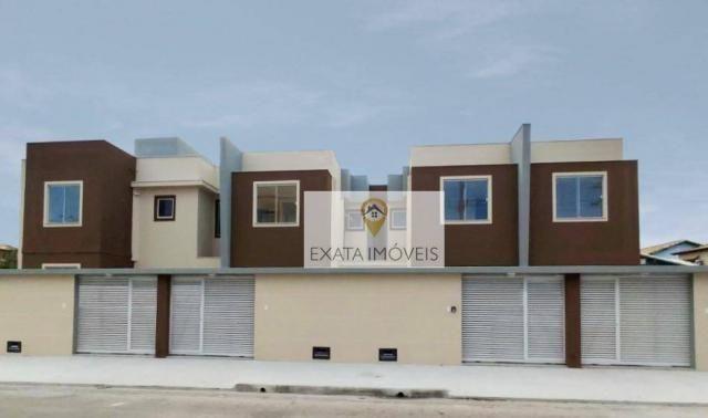 Casas duplex 03 quartos, independentes, recreio/costazul, rio das ostras. - Foto 2
