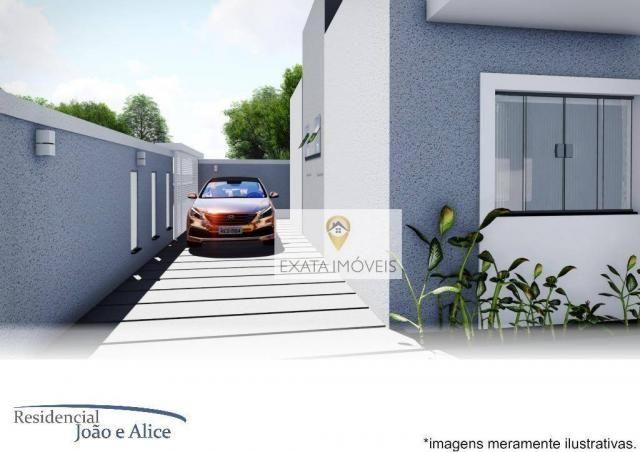 Lançamento! casas lineares independentes a 150m da rodovia, jardim mariléa, rio das ostras - Foto 9