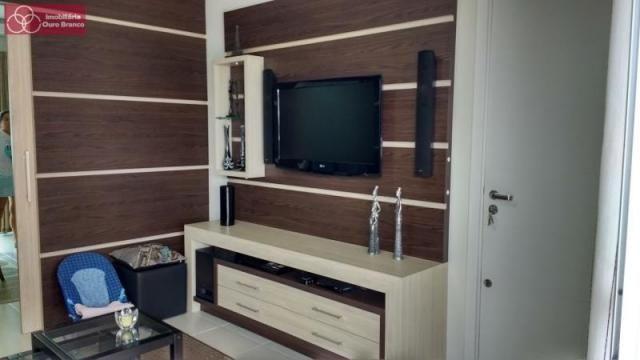 Apartamento à venda com 3 dormitórios em Ingleses do rio vermelho, Florianopolis cod:2400 - Foto 4