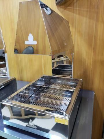 Aquecedor de frituras inox - 2 Cubas | NOVO