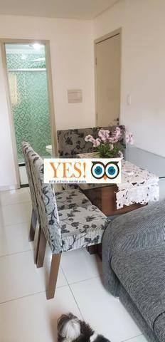 Apartamento mobiliado para locação, fraga maia, feira de santana, 2 dormitórios, 1 sala - Foto 2