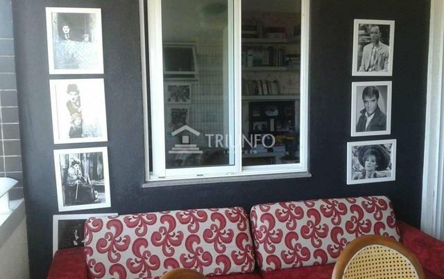 GM - Apartamento com 4 quartos/ varanda/ 3 vagas - Foto 3