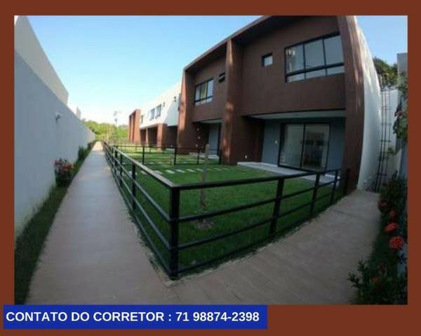 Casa em Patamares Casa com 3 quartos - Dependência - Suíte em 129m² com 2 Vagas, - Foto 6