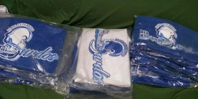 Camisas personalizadas (estampa em serigrafia / silk / sublimação) - Foto 4